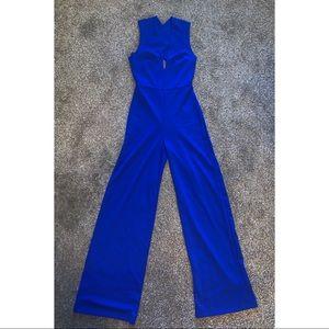 Lulu's Woman Small Blue Jumpsuit